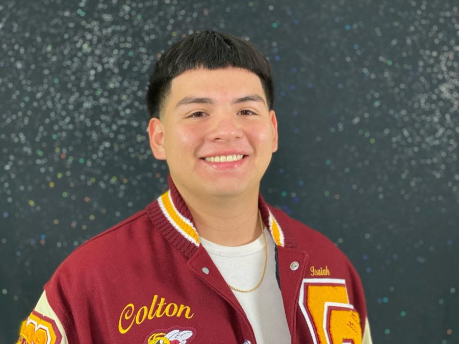 Isaiah Ramirez brings his sincerity, hard work, and dedication to Colton High School to this years Homecoming Court.