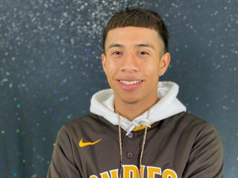 Damian Valdez is hustling to become the 2021 Homecoming King.