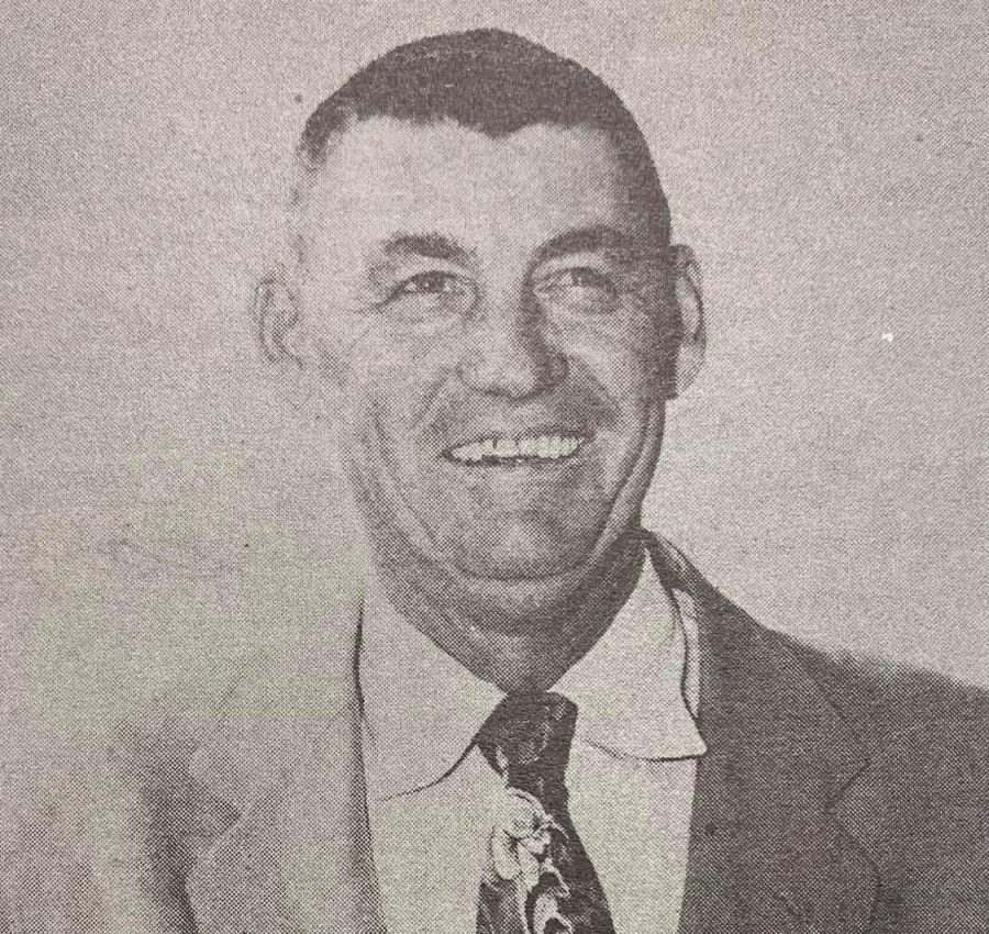 Tom Morrow taught at Colton High School from 1947-1976 as both a Spanish teacher and basketball coach.