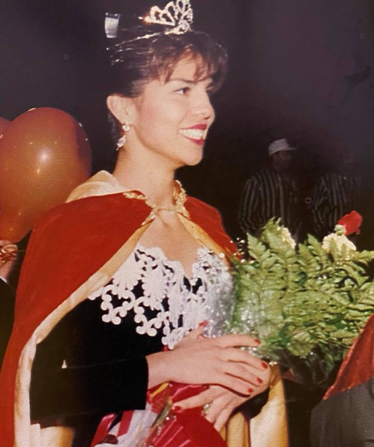 At the 1991 Homecoming Game, senior Rosa Salazar was crowned Homecoming Queen.