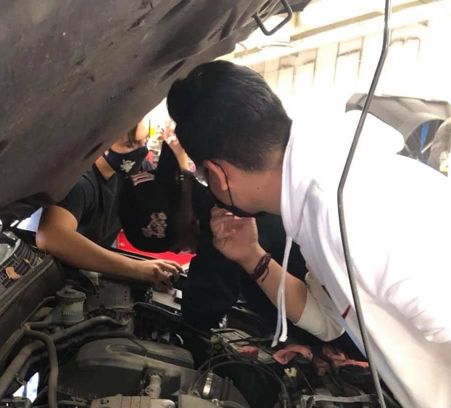 Colton no longer offers Drivers Ed courses, like the one started in 1942, but it still provides students the opportunity to learn car maintenance in the ROP Auto Shop.