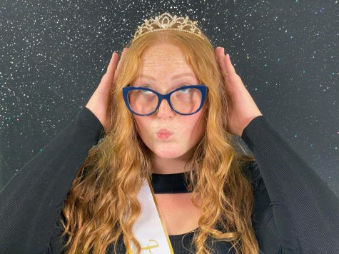 Brooke Carlson is bringing her sense of humor to this years Homecoming Court.