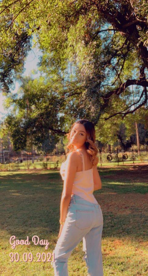 Izabel Bella Lara is running for Freshman Homecoming Princess.