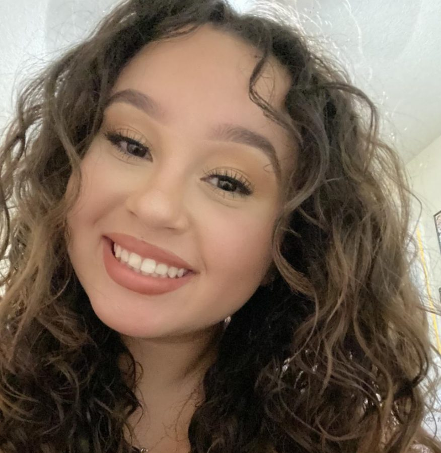 Savanah Garcia is running for Sophomore Homecoming Princess.