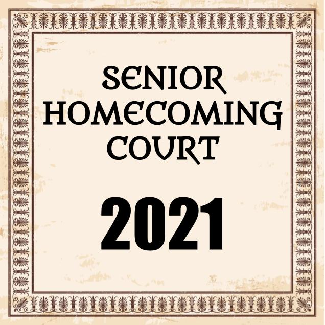 And here are the winners of Homecoming Court 2021!