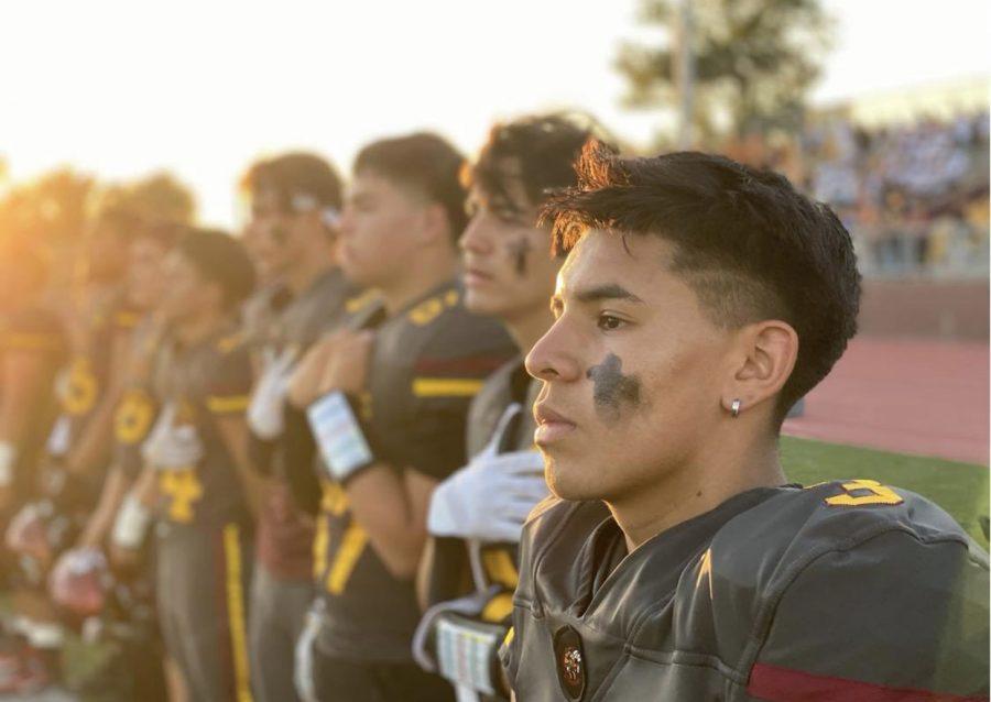 Gabriel Aparicio is running for Junior Homecoming Prince.