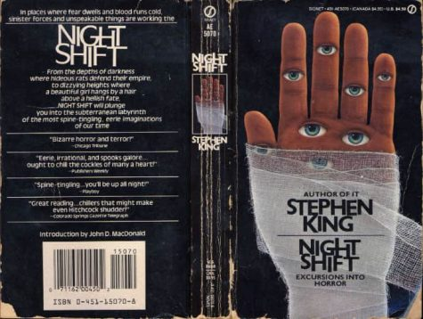 Stephen Kings Night Shift (1978) was his first collection of short stories. It is still considered a classic in the genre.