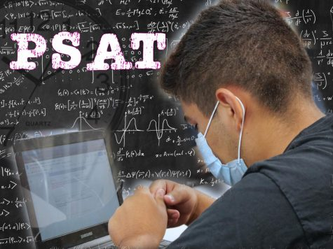 Students in grades 9 and 10 will be taking the PSAT during periods 1-3 on Oct. 13.