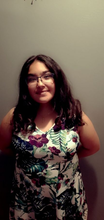 Melanie Acosta is running for Sophomore Homecoming Princess.