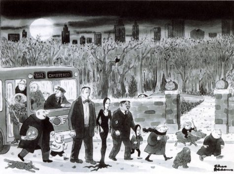 Charles Addamss The Addams Family is a true celebration of the ghastly and grim.