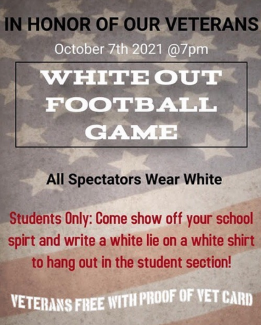 For Thursdays game, Colton High is honoring local vets at the WhiteOut game vs. Kaiser High.