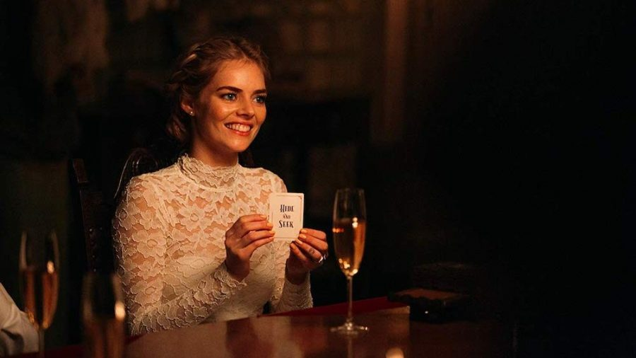 Samara Weaving stars as Grace in 2019s crazy cat-and-mouse horror movie, Ready or Not.